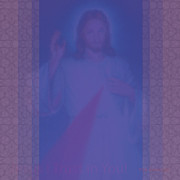 Divine Mercy Posters - Jesus I Trust in You Poster by Rom Francis