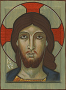 Jesus Christ Icon Framed Prints - Jesus Icon Framed Print by James Morris