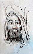 Southern Indiana Painting Posters - Jesus in Nature Original Painting by Eric Drury Poster by Eric Dru Stephenz Drury
