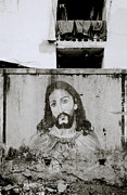 Jesus Christ Icon Prints - Jesus In The Slum Print by Shaun Higson