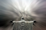 Catholic Art Photo Originals - Jesus is Risen by John Hanou