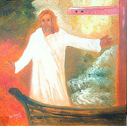 Troubled Life Art - Jesus is The Christ Messiah by Richard W Linford