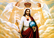 Jesus Photos - Jesus is the King by Munir Alawi