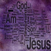 Jesus Name 2 Print by Angelina Vick