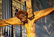 Salo Photos - Jesus on cross by Steve Heap