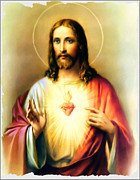 Jesus Digital Art Prints - Jesus Our Lord and Saviour Print by Bill Cannon