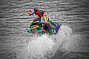 Jet Ski Print by Terri  Waters