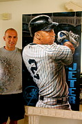 Sports Art World Wide John Prince - JETER 22 limited edition...