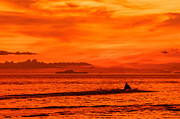 Asien Prints - Jetski ride into the sunset Print by Colin Utz