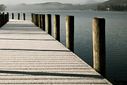 Coniston Art - Jetty by Simon Wrigglesworth