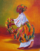 West Indies Paintings - Jeune Fi Bele by Earl Darius Etienne