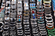 Bracelets Framed Prints - Jewellery at Anjuna Market Framed Print by Robert Preston