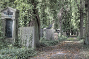 Berlin Art - Jewish Cemetery Weissensee Berlin Germany by Julie Woodhouse