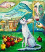 Elisheva Nesis Art - Jewish New Year. New Game by Elisheva Nesis