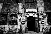 Kazimierz Art - Jewish Style Restaurant With English And Polish Writing In Szeroka Kazimierz Krakow by Joe Fox