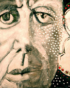 President Mixed Media - Jfk by Cindy Suter