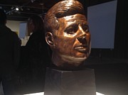 Jumping Sculptures - Jfk by John Britton