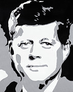 President Paintings - Jfk by Jose Acosta