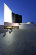 New England Acrylic Prints - JFK Library in Boston by Juergen Roth