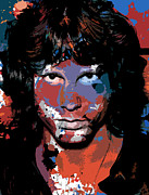 Jim Morrison Prints - Jim Morrison Print by Allen Glass