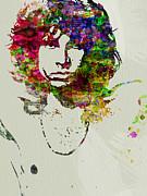 Jim Morrison Print by Naxart Studio