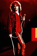 Jim Morrison Print by John Travisano