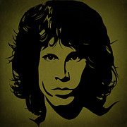 Rock Band Photo Prints - Jim Morrison  Print by Movie Poster Prints