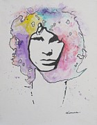 The Doors Poster Paintings - Jim Morrison by Venus Art