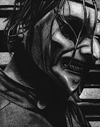 Corey Drawings - Jim Root by Mike Shaw
