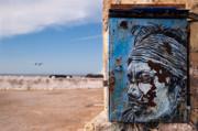 Moroccan Photos - Jimi Hendrix on the Beach by Daniel Kocian