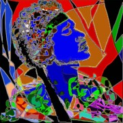 Navo Art - Jimi In Heaven Colorful