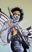 Music Digital Art - Jimi by Rob Hans