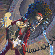Classic Rock Painting Originals - Jimi by Will Enns