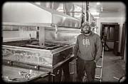 Jimmy At Mt Cube Sugar Farm Print by Edward Fielding