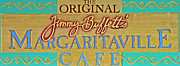 Tailgate Prints - Jimmy Buffetts Margaritaville Cafe Sign - The Original Print by John Stephens