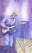 Guitar God Painting Originals - Jimmy Herring by David Sockrider