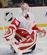 All-star Framed Prints - Jimmy Howard Framed Print by Don Olea
