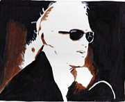 Zeppelin Guitarist Painting Originals - Jimmy Page 2 by Audrey Pollitt