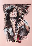 Jimmy Page Print by Melanie D