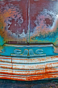 Rusted Cars Framed Prints - Jimmy Framed Print by Peter Tellone