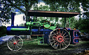Greyhound Photos - Jl Case Steam Tractor by F Leblanc