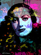 Allen Glass Framed Prints - Joan Crawford Framed Print by Allen Glass