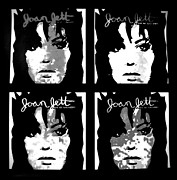 Cat Jackson Framed Prints - Joan Jett Framed Print by Cat Jackson