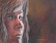 Destruction Pastels - Joan of Arc by Debra Lynn Birchell
