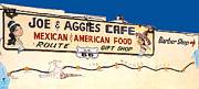 Sue Smith - Joe and Aggies Cafe Sign