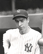 Joe Dimaggio Hand On Hip Print by Retro Images Archive