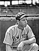 Joe Dimaggio World Series Art - Joe DiMaggio Painting by Florian Rodarte
