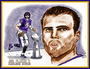 Chris  DelVecchio - Joe Flacco