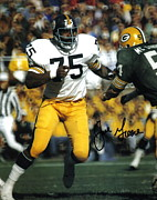 Pittsburgh Steelers Photos - Joe Greene Poster by Sanely Great