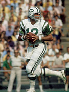 New York Jets Prints - Joe Namath Print by Paint Splat